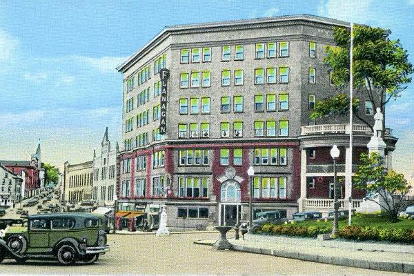 Flanagan Hotel, Malone NY