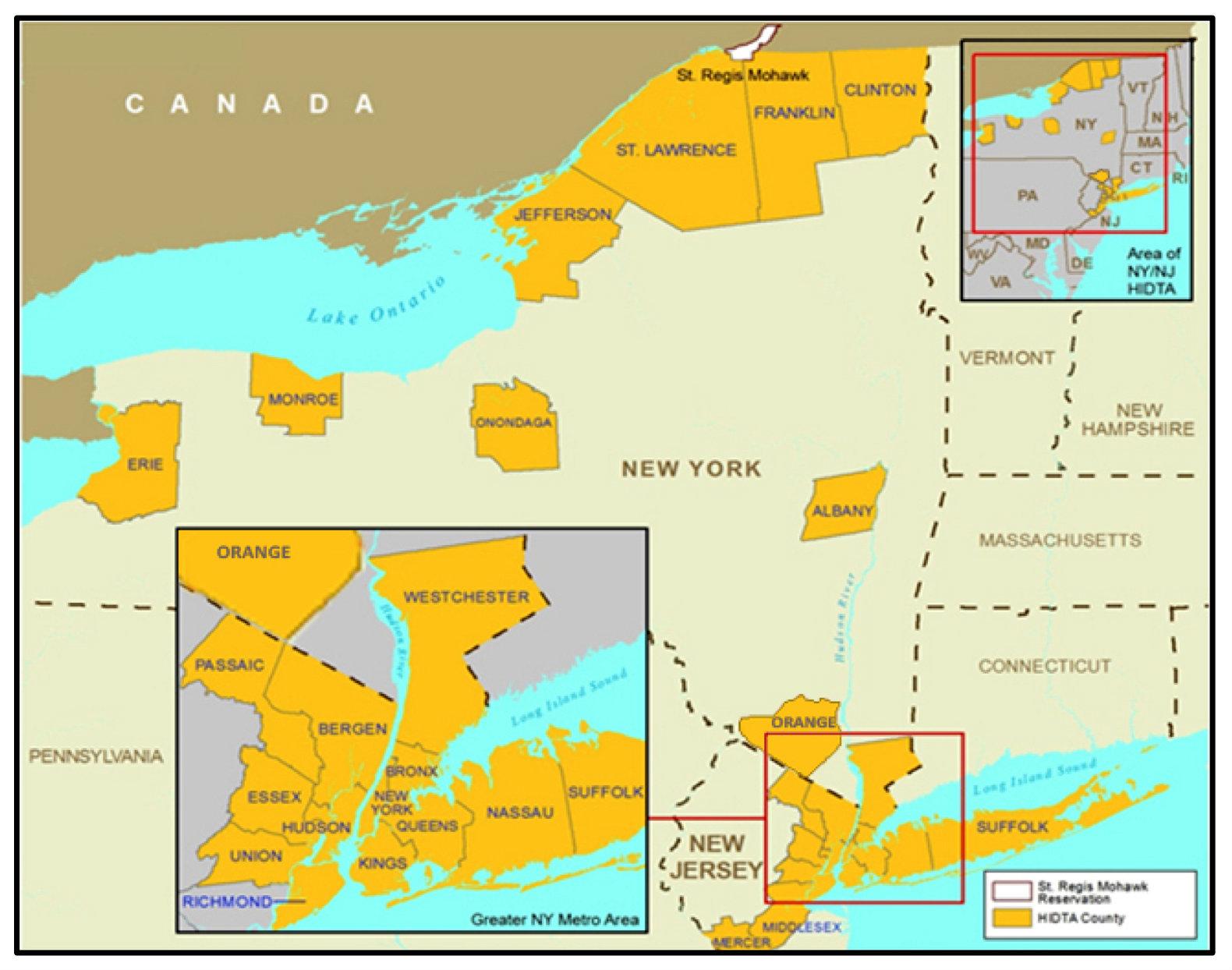 NYS HIDTA map fixed