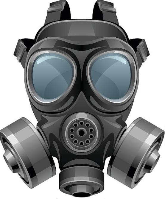 gas mask fixed