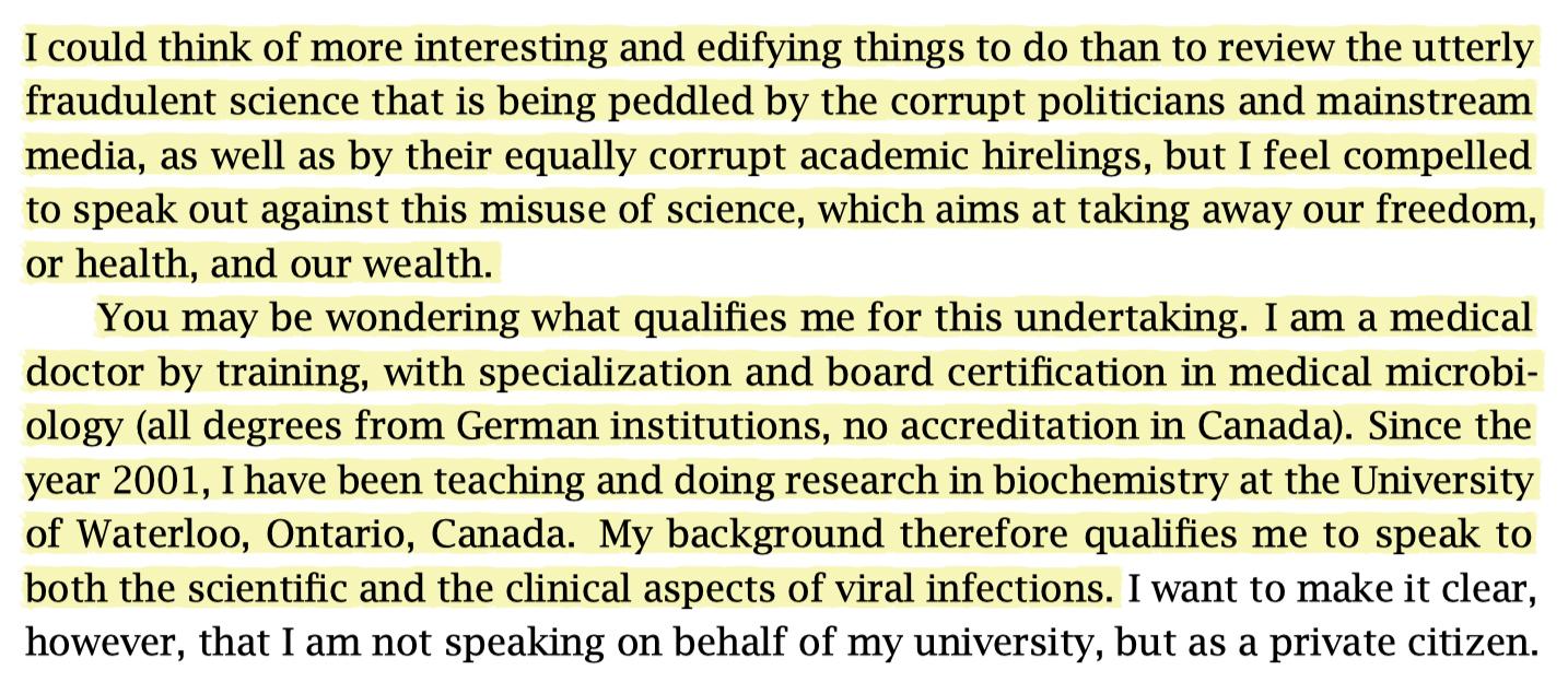 """""""Utterly fraudulent science"""""""
